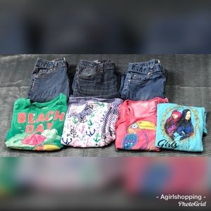 Other - Girl's Bundle Sz 8-1/2 Plus Jeans Shirts 8/10